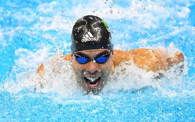 Daniel Dias ficou com a prata nos 100m peito