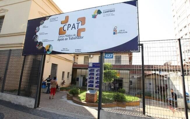 Campinas começa a semana com 63 vagas de emprego no CPAT