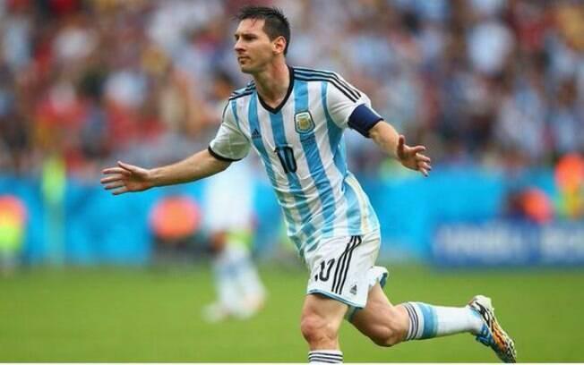 Messi defende a seleção principal da Argentina desde 2006