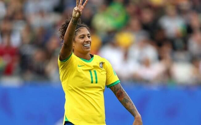 Primeiro jogo da seleção brasileira na Copa do Mundo feminina aconteceu no último domingo (9)
