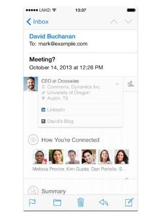 LinkedIn Intro está disponível somente para iPhone e iPad