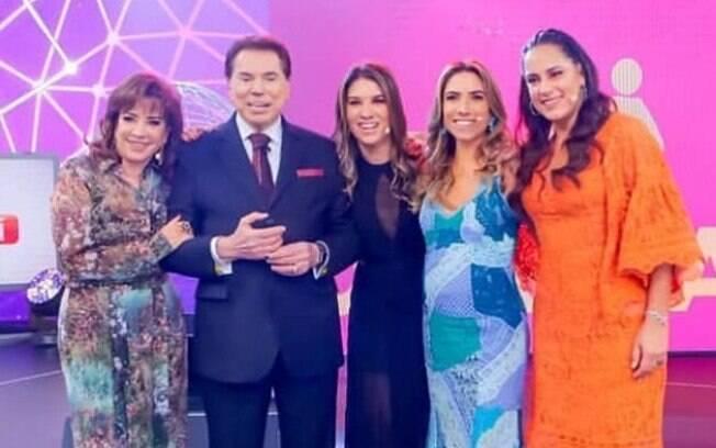 Patrícia Abravanel sai em defesa de Silvio Santos após polêmica com Claudia Leitte