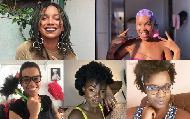 Enriqueça suas redes sociais e comece a seguir mais criadoras de conteúdo negras.
