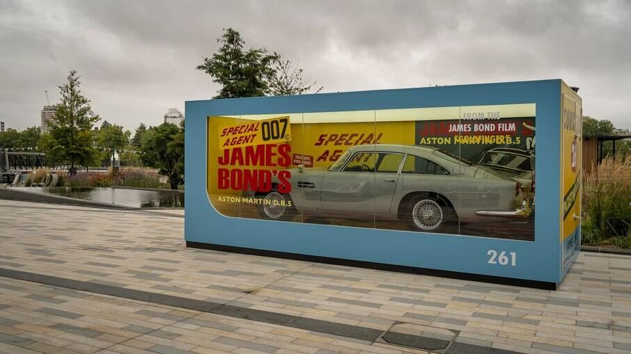 Aston Martin DB5: réplica em escala 1 por 1 do esportivo clásico de 1965