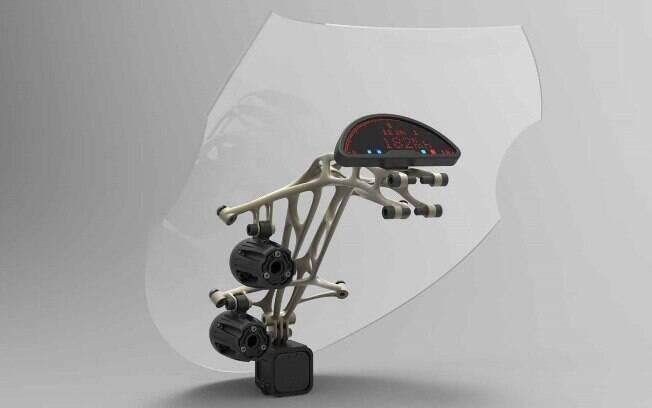 O produto final. Impressão em 3D ainda está em fase embrionária, mas tem potencial para compor a engenharia de ponta