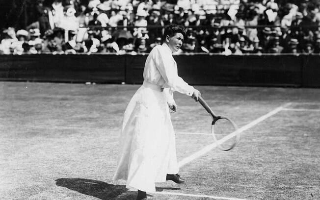 A tenista Charlotte Cooper foi a primeira mulher a ganhar um ouro olímpico