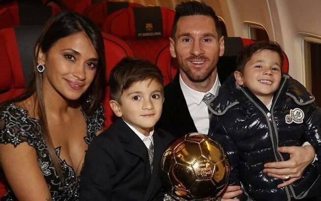 Lionel Messi faturou sua sexta Bola de Ouro