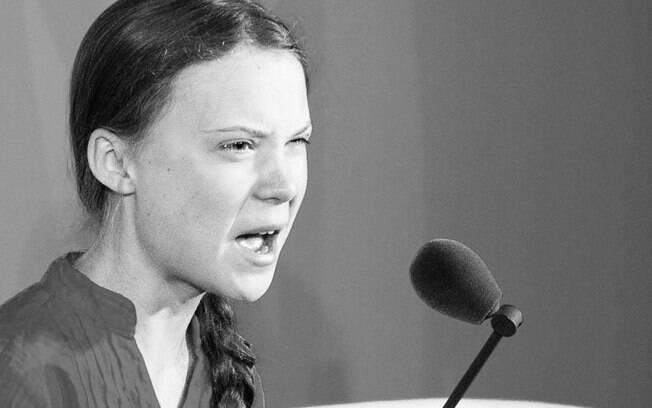 Greta Thunberg discursou na Cúpula do Clima das Nações Unidas