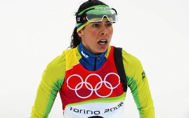 Jaqueline também participou das Olimpíadas de  Inverno de 2006 e 2010 no esqui cross-country