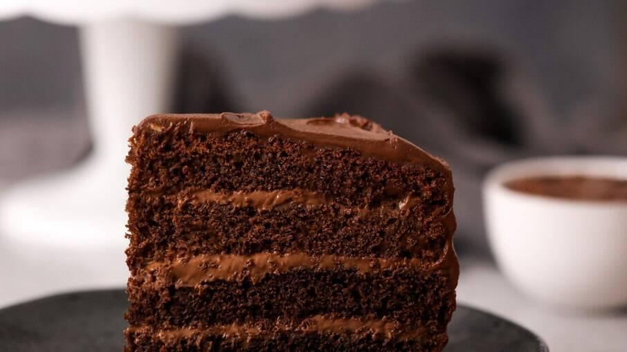 O bolo de chocolate do filme