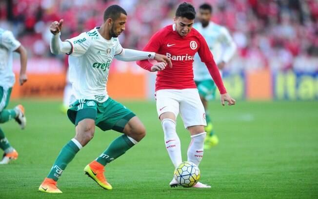 Palmeiras x Internacional é um dos jogos deste sábado na agenda do futebol