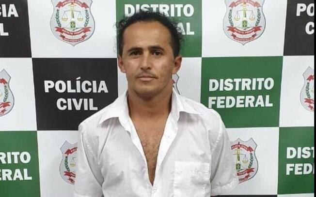 Marinesio dos Santos Olinto, suspeito de ter matado advogada