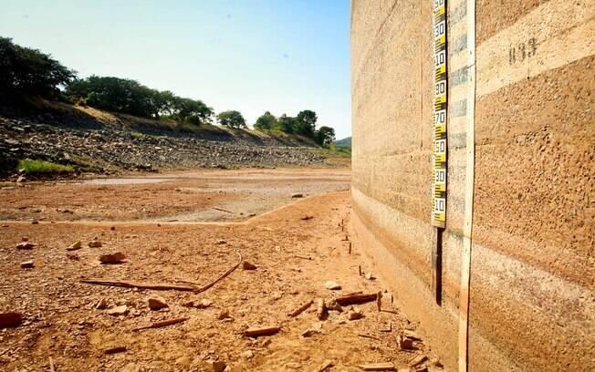 Sistema Cantareira tem o menor nível em duas décadas. Foto: Patricia Stavis