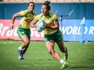 Paula Ishibashi, capitã da seleção feminina de Rugby Sevens