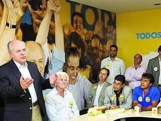 Pimenta da Veiga se reuniu com prefeitos de 20 cidades ontem