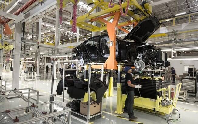Fábrica da Mercedes-Benz em Iracemápolis
