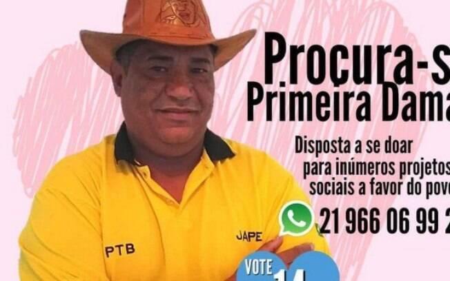 """Poroca se define como o """"candidato solteiro"""""""