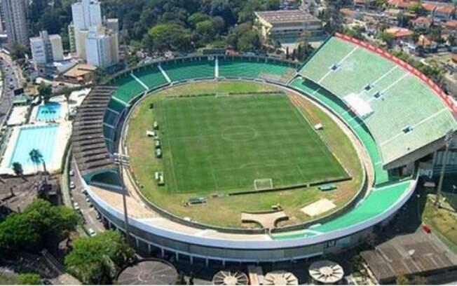 O estádio Brinco de Ouro da Princesa em Campinas, no interior de São Paulo