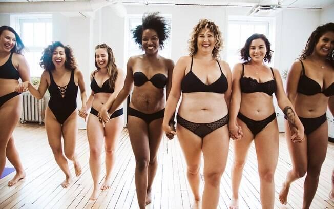 O objetivo do projeto fotográfico 'My Body Labels' é discutir sobre os padrões de beleza e rótulos impostos às pessoas