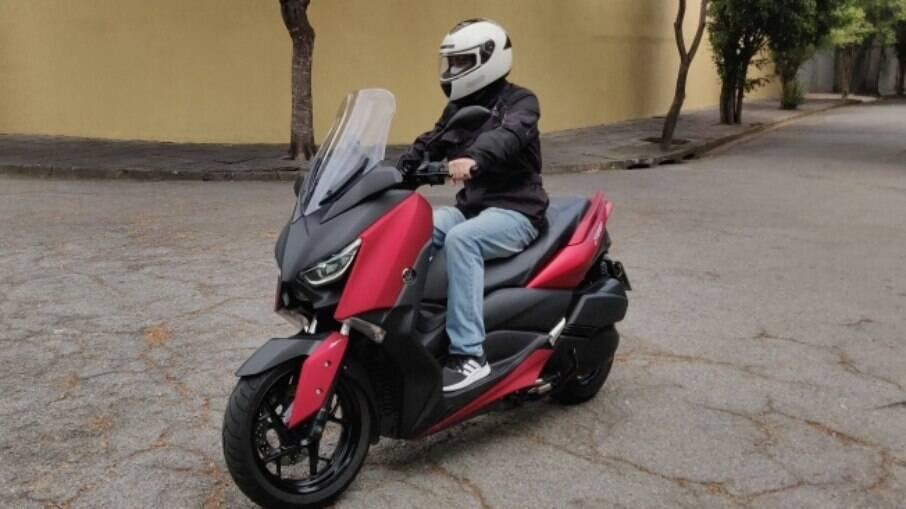 Yamaha XMax 250: Com tanque de 13,2 litros, o Yamaha XMax tem grande autonomia