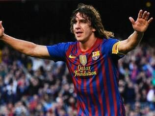Com carisma e muita raça, Puyol é um dos grandes ídolos do Barcelona