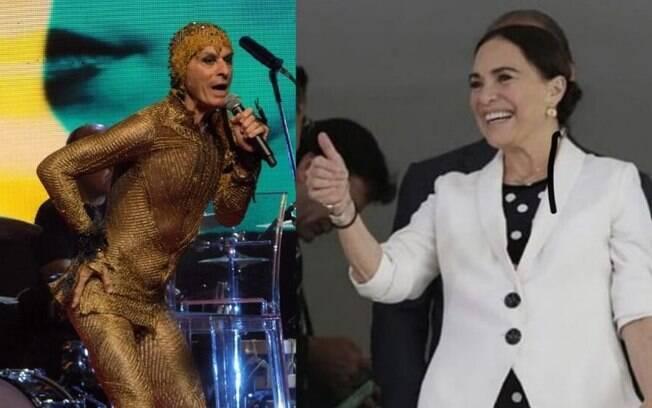 Ney Matogrosso chama Regina Duarte de