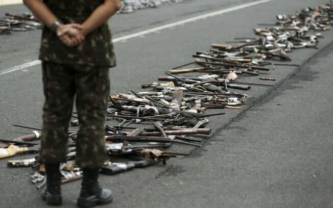 Projeto que propõe revogação do Estatuto do Desarmamento foi apresentado ao Congresso em 2012