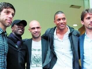Criação. Juninho, Seedorf, Cris, Dida e Paulo André encabeçaram o Bom Senso FC, no ano passado