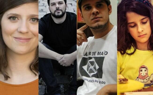 Clarice Freire, Pedro Gabriel, Rodrigo Ciríaco e Sophia Maia encenam seus livros no teatro no Itaú Cultural