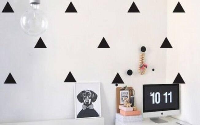 O papel de parede escolhido para determinado cômodo da casa precisa combinar com a personalidade do morador