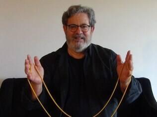 Professor Rodrigo Libânio no Festival do Saci