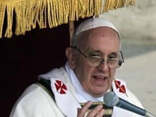 Papa elogiou a forma como o Brasil reagiu à tragédia