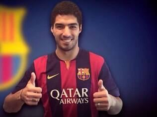 Em seu site oficial, Barcelona exalta o acerto com o mais novo reforço Luis Suárez