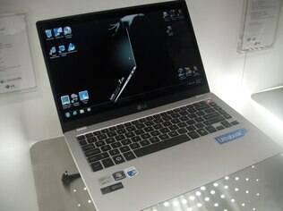 Ultrabooks, com o modelo da LG, ainda são pouco populares no mercado por conta do preço