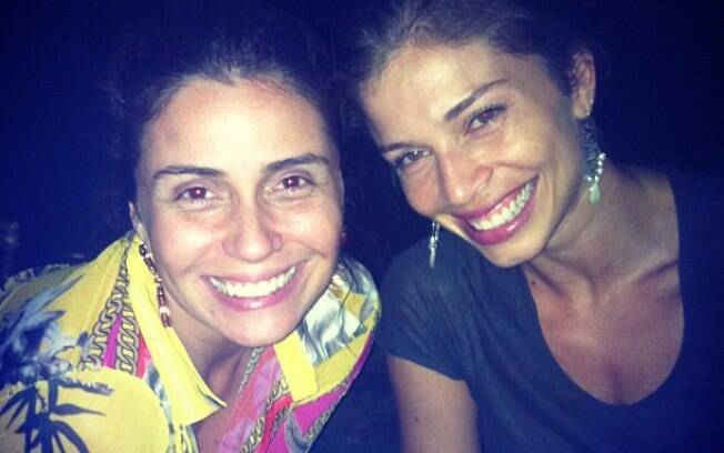 Giovanna Antonelli e Grazi Massafera sem maquiagem em encontro nesse domingo (2)