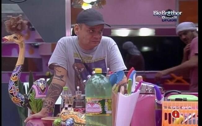 João Carvalho se prepara para possível Prova do Anjo