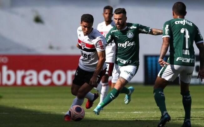 Treino de luxo? Jornalista diz que Palmeiras deve jogar contra o São Paulo pensando na Copa do Brasil