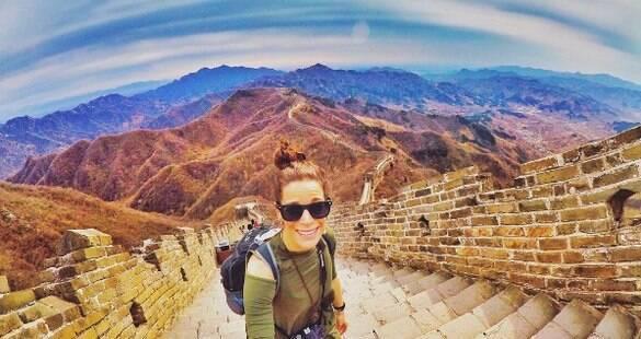 """Viajante conta como realizou sonho de conhecer o mundo: """"Não tenha medo"""""""