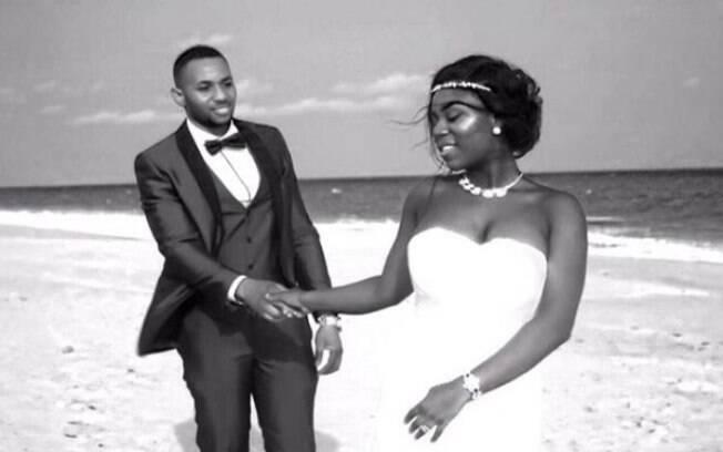 Uma das tentativas de casamento dos sonhos foi na praia e Sandra acabou se desentendendo com o fotógrafo