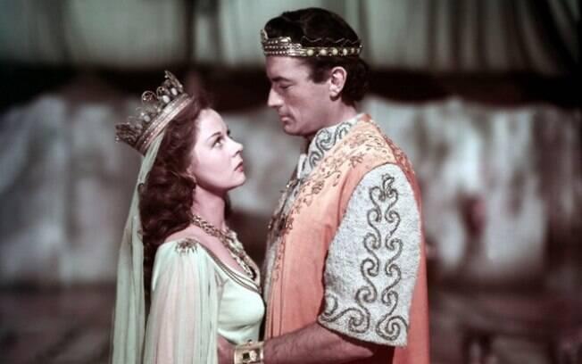 'David e Betsabá', sucesso de 1951 dirigido por Henry King. Foto: Divulgação