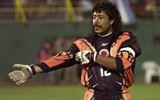 Higuita promete cortar o cabelo se seleção da Colômbia não vencer a Copa América