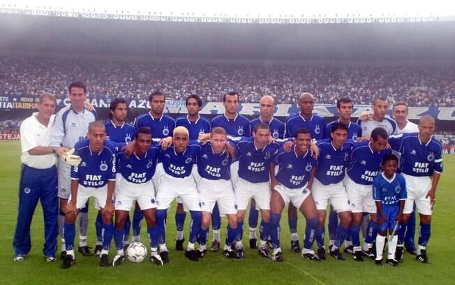 O Cruzeiro, de Vanderlei Luxemburgo e Alex,  foi o primeira campeão dos pontos corridos