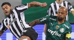 Palmeiras e Atlético não saem do zero no jogo de ida; Hulk desperdiça pênalti