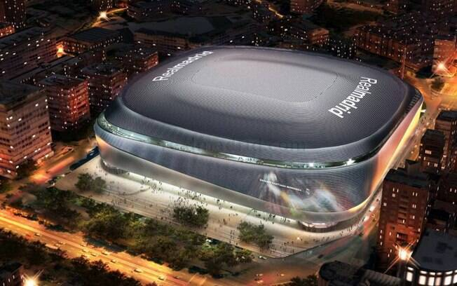 Projeção do novo Santiago Bernabéu