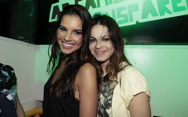 Mariana Rios e Sthefany Brito no Rock in Rio