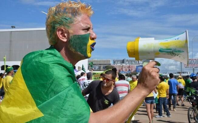 Ao todo, 3 mil militares foram mobilizados para acompanhar as manifestações em Brasília