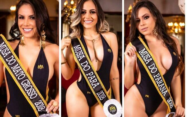 Candidatas anunciadas anteriormente ao título de Musa do Brasil 2018