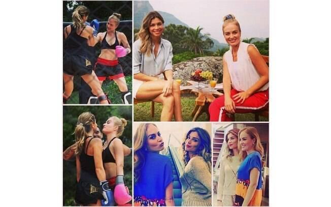 A aniversariante Grazi Massafera recebe o carinho de Angélica no Instagram: 'Você merece o melhor dessa vida