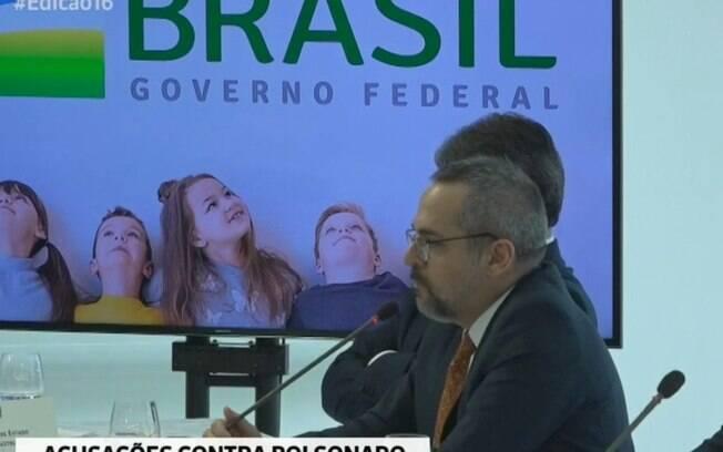 Minstro da Educação, Abraham Weintraub fez afirmação em reunião ministerial, divulgada nesta sexta