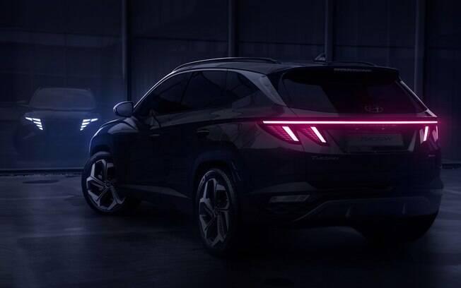 Novo Hyundai Tucson aposta em linhas arrojadas, assim como aconteceu com o Creta vendido na China